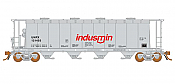 Rapido 127020 HO 3800 Cubic Feet Covered Hopper - Procor (Indusmin) UNPX (6 pack) - Pre-order