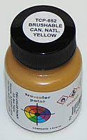 Tru Color Paint 852 - Acrylic -Flat CN Yellow 1oz