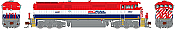 Rapido N Scale 540525 GE Dash 8-40CM - DCC & Sound British Columbia Railway (Post 2010) 4622 - Taking Orders Now