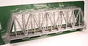 Kato Unitrack 20-433 N Scale Single Track Truss Bridge 248mm, Silver