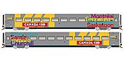 Rapido Trains 108051 HO LRC Coach - Canada 150 Wrap Scheme #3350 - Pre-order