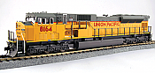 Kato 376392 HO Diesel EMD SD90/43MAC - DCC Ready - Union Pacific #8164