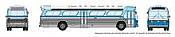 Rapido 573008 N - 1/160 New Look Bus - Santa Monica 2525