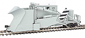 WalthersProto 110107 Jordan Spreader - Ready to Run - Maintenance-of-Way #50 (gray, white, black)