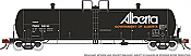 Rapido 135010-F HO Scale - Procor GP20 20K Gal Tank Car: PROX Late - Gov. of Alberta As Delivered - Single Car #58026