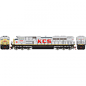 Athearn G68873 HO EMD SD70ACe, SoundTraxx Tsunami2 DCC & Sound, Kansas City Southern KCS #4009