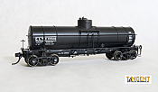 Tangent Scale Models 19018-06 HO - GATC 1917-design 8000 Gallon Tank Car - GATX 1936+ Lease #13934