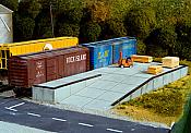 Pikestuff 17 HO Modular Loading Docks