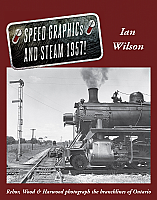 Speed Graphics and Steam 1957 by Ian Wilson