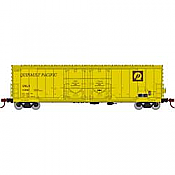 Athearn RTR 67731 - HO 50ft Evans Double-Door Plug Boxcar - Quinault Pacific/USLX #10474