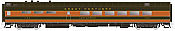 Rapido Trains 124022 HO Scale Pullman-Standard Lightweight Diner Great Northern #1150 Lake Superior Pre Order