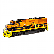 Athearn Genesis 65803 HO GP50 Phase 1 DCC/SND, TP&W Orange and Black #5010