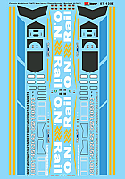 Microscale Railroad Decal Set Ontario Northland (ONT) -- Stock# 87-1395