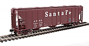 Walthers Mainline 7451 - HO 50ft PS-2 CD 4427 Covered Hopper - Santa Fe/ATSF #302170