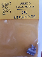Juneco Scale Models C-66 Air Compressor, Shop Type