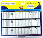 Athearn HO 72533 53' Stoughton Container Burlington Northern Santa Fe/Hub Group #1 (3)