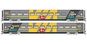 Rapido Trains 108058 HO LRC Business - VIA40 Scheme #3476 - Pre-order