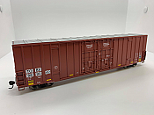 Walthers Mainline 3004 - HO 60ft Hi-Cube Plate F Boxcar - TTX/TOBX #889042