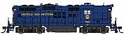 WalthersProto 42705 HO - EMD GP9 Phase II - LokSound 5 DCC & Sound - Norfolk & Western #766