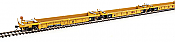 WalthersMainline 55614 HO Thrall 5-Unit Rebuilt 40 Ft Well Car - TTX DTTX 748247 A-E