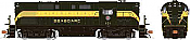 Rapido 31589 HO - Alco RS-11, 2nd Run - Diesel Locomotive - DCC & Sound - Seaboard Air Line - Delivery #106