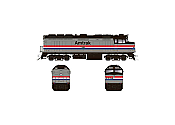 Rapido 083106 HO Scale EMD F40PH Ph2, Standard DC, Amtrak Phase III No.317