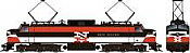 Rapido 84501 HO - EP-5 Electric Loco - DCC & Sound - New Haven, Delivery #370