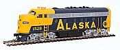 Walthers Mainline 19927 HO Scale - EMD F7A - ESU Sound and DCC - Alaska Railroad #1528