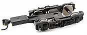 Walthers Proto 6050 - HO Streamlined Passenger Trucks w/ Talgo Couplers & RP-25 Wheels (2 pkg)