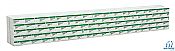 Walthers SceneMaster 3161 HO Scale - Wrapped Lumber Load for 72 FT Centerbeam Flatcar - Weyerhaueser