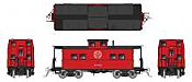 Rapido 144023 - HO Northeastern-style Steel Caboose: WM - As Delivered Scheme #1863
