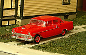 Sylvan Scale Models 292 HO Scale - 1956 Chevy 150 Four Door Sedan - Unpainted and Resin Cast Kit