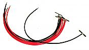 Peco PL-80 - HO Power Feed Joiners For Code 100/124 (8/pkg)