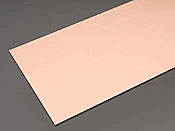 K&S Engineering 01217 All Scale - 0.025 inch Thick Copper Flat Sheet - 6x12inch
