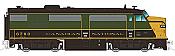 Rapido Trains True North 20506 HO Diesel FPA-4 - DCC & Sound Canadian National 1954 Scheme #6781