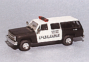 Trident Miniatures 90302 HO Emergency - Police Vehicles - Chevrolet Suburban - New York Canine Unit