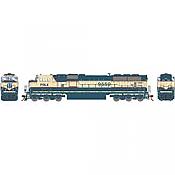 Athearn Genesis G64910 HO Scale - SD70MAC Diesel, w/ DCC & Sound - PRLX #9562