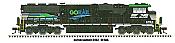 Athearn Genesis G65258 HO SD60E - DC/DCC/Sound - Norfolk Southern GoRail #6963