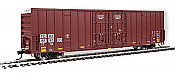 Walthers Mainline 3002 - HO 60ft Hi-Cube Plate F Boxcar - TTX/TOBX #889003