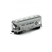 Athearn RTR HO Scale 98190 Covered Hopper Erie Lackawanna #21362