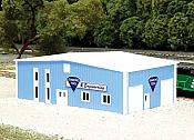 Pikestuff 8011 - N Diamond Tool & Engineering Building (Scale: 60 x 40ft) - Blue