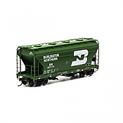 Athearn RTR 93989 - HO ACF 2970 Covered Hopper - Burlington Northern (3pk)