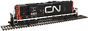 Atlas 10 002 040 HO Master Line GP-7 ESU LokSound DCC & Sound  -  Canadian National 4822