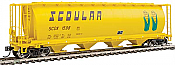 Walthers Mainline HO 7322 59 Ft Cylindrical Hopper - Scoular SCOX #1551