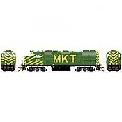 Athearn Genesis G71724 - HO GP38-2 - DCC Ready - Missouri Kansas Texas (MKT) #318