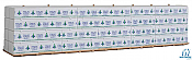 Walthers SceneMaster HO Scale 3122 -  Wrapped Lumber for 50Ft Bulkhead Flatcar - Finlay