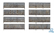 Woodland Scenics 3005 - O scale Privacy Fence - Kit