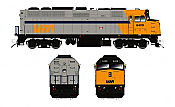 Rapido Trains 580001 - N VIA F40PH-2D - DC/Silent - Original Scheme #6409