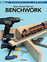 Kalmbach Publishing Co Book -Basic Model Railroad Benchwork