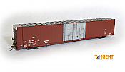 Tangent Scale Models 25011-04 HO Scale - Greenville 86Ft Double Plug Door Box Car - CPAA #206028